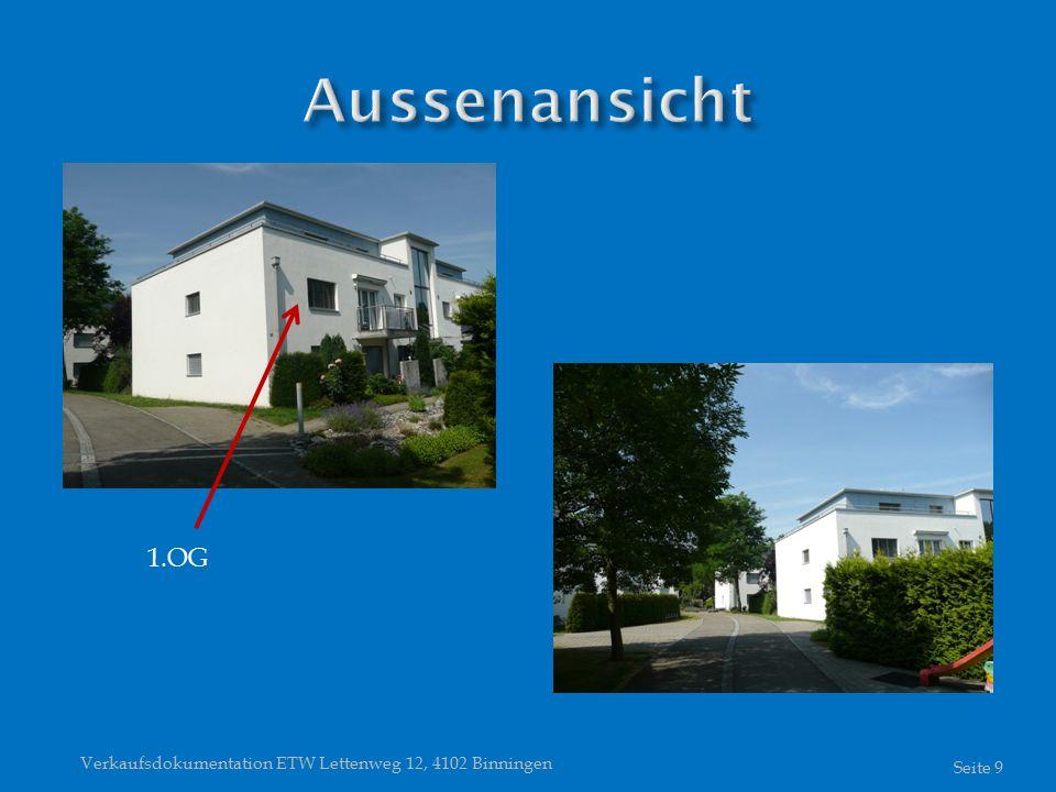 Verkaufsdokumentation ETW Lettenweg 12, 4102 Binningen Seite 9 1.OG