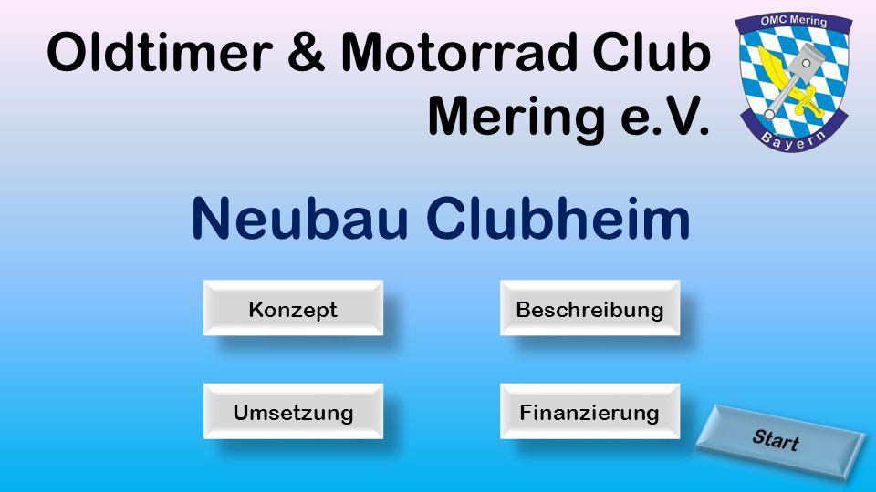 Oldtimer & Motorrad Club Mering e.V. Neubau Clubheim