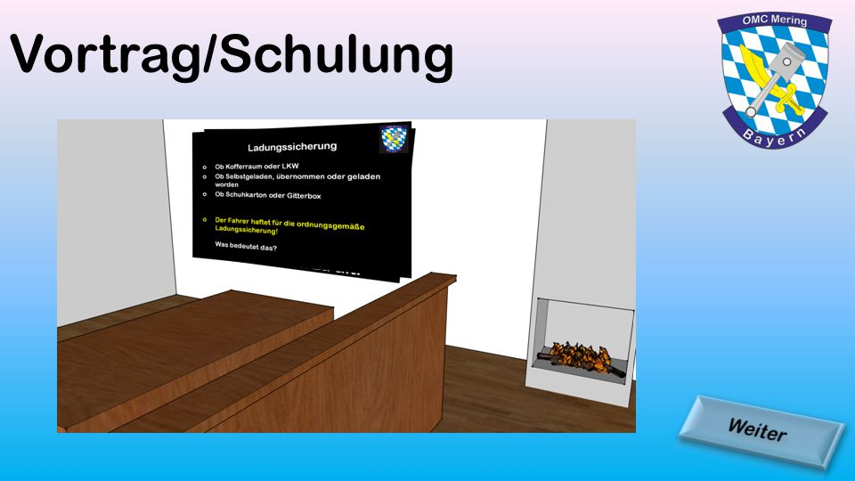 Vortrag/Schulung