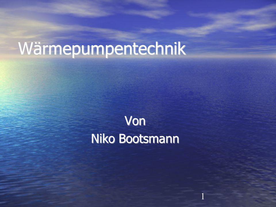 1 Wärmepumpentechnik Von Niko Bootsmann