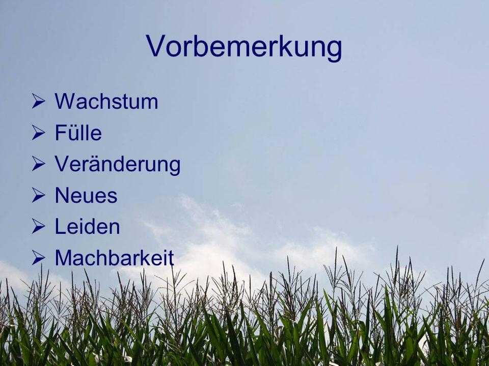 I.Biblische Grundlagen AT  Schöpfung 1.Mose 1,22.28  Nach der Sintflut 1.