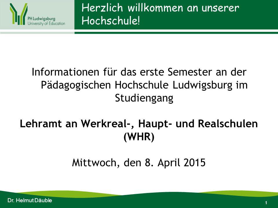 1 Herzlich willkommen an unserer Hochschule.