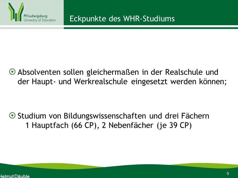 36 Infos für WHR-Erstsemesterstudierende Wintersemester 2011-12 Ende! Dr. Helmut Däuble