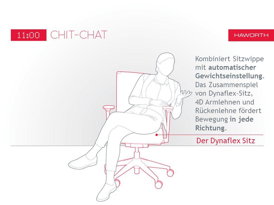 Kombiniert Sitzwippe mit automatischer Gewichtseinstellung.