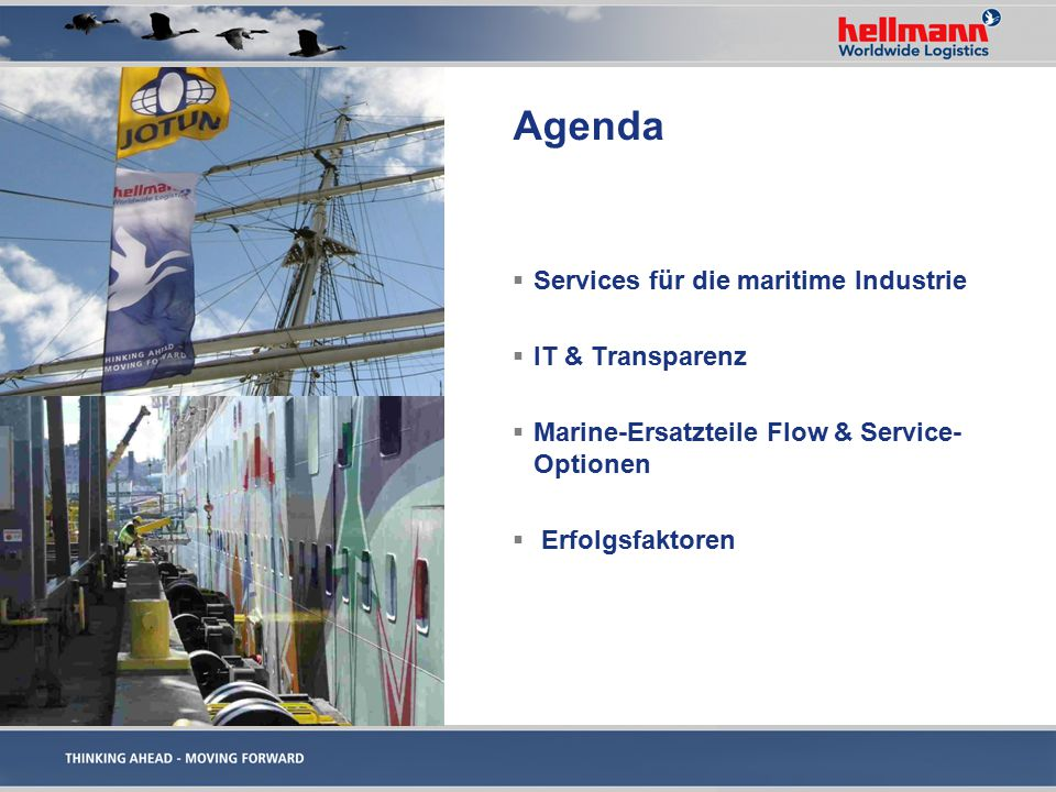 Wieso Hellmann Marine Solutions.