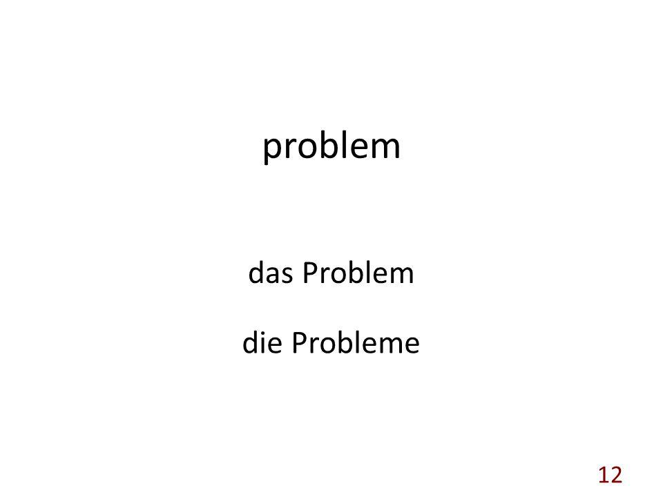 problem das Problem die Probleme 12