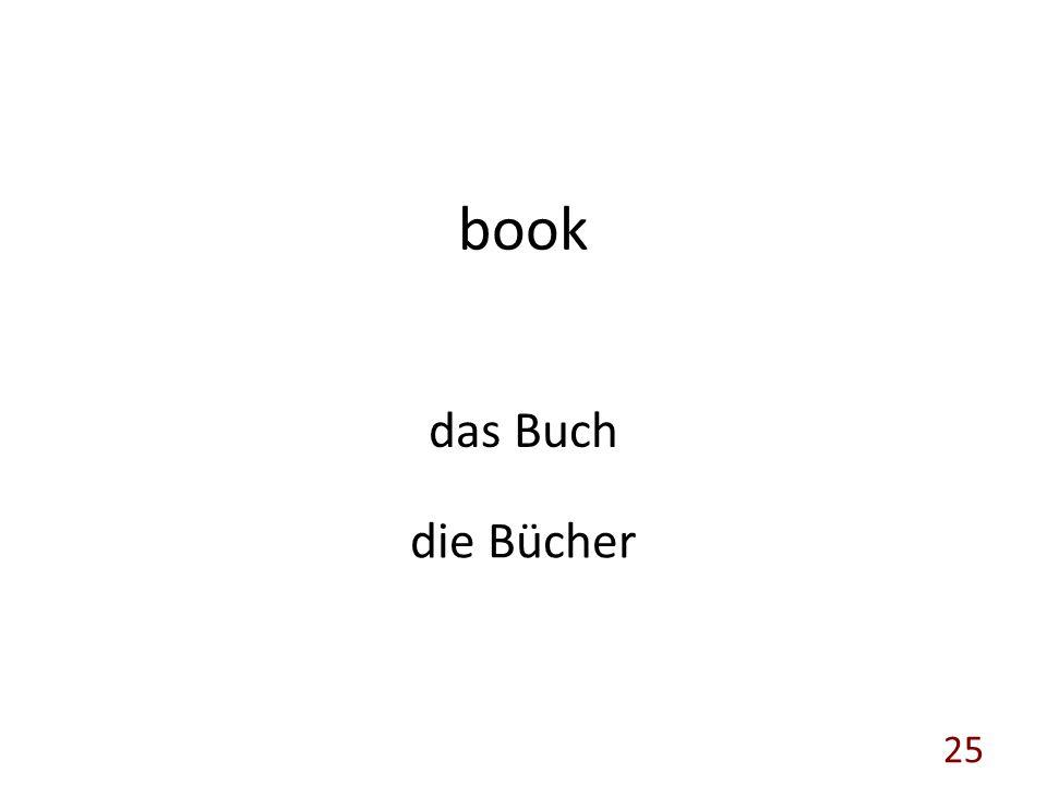 book das Buch die Bücher 25
