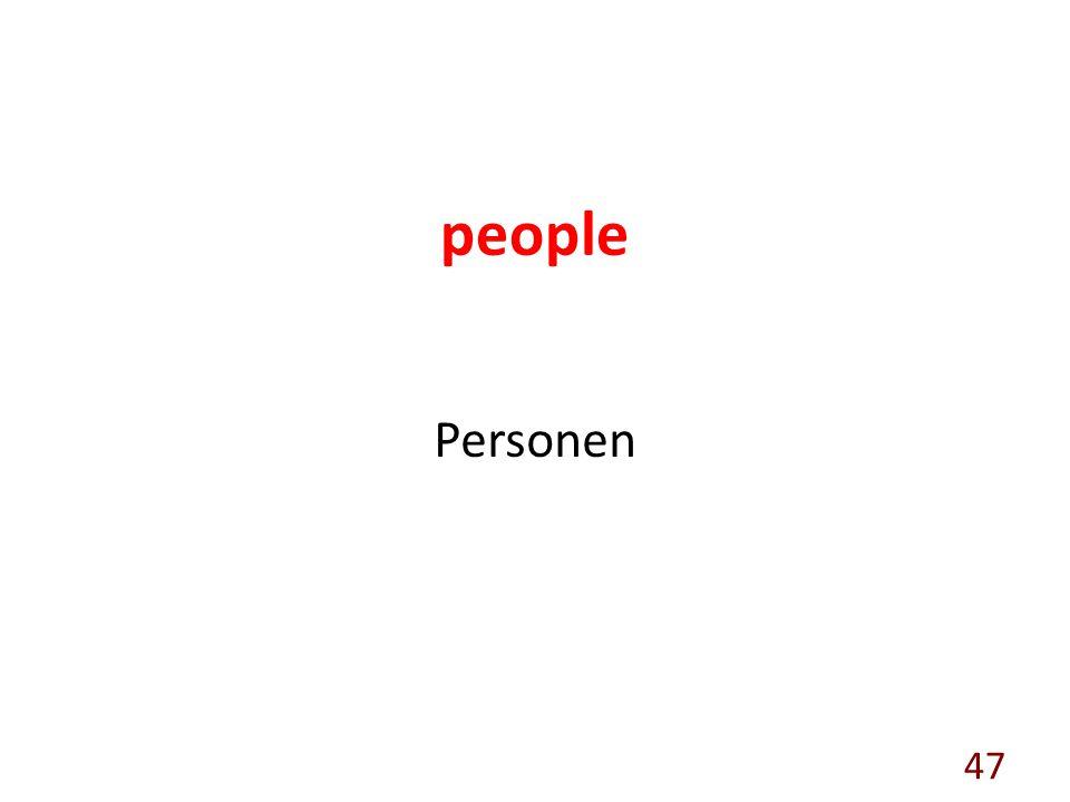 people Personen 47