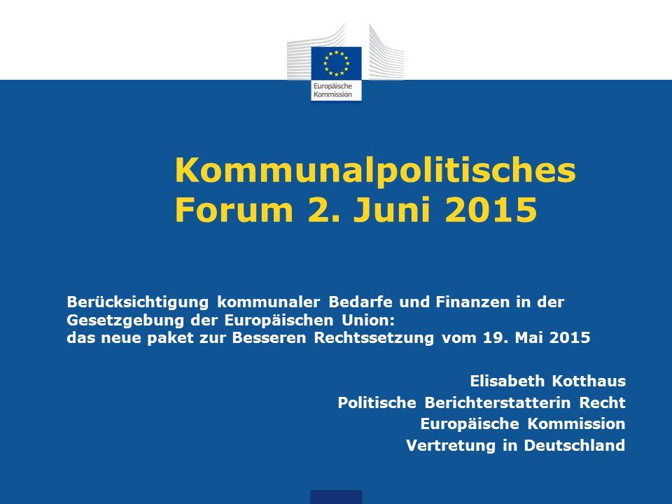 Kommunalpolitisches Forum 2.