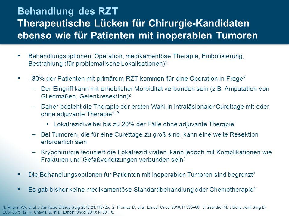 Behandlungsoptionen: Operation, medikamentöse Therapie, Embolisierung, Bestrahlung (für problematische Lokalisationen) 1  80% der Patienten mit primä