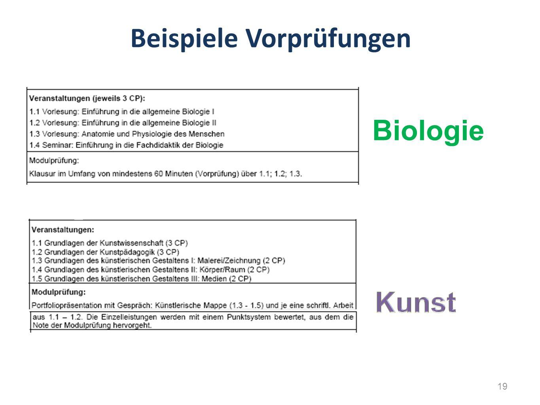 Beispiele Vorprüfungen Biologie 19