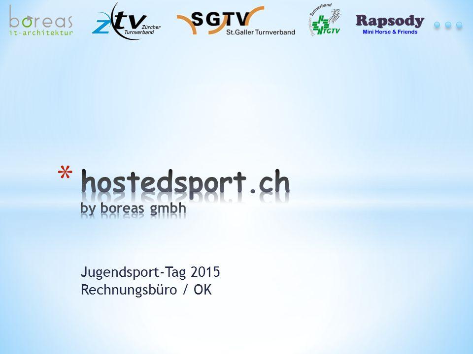Jugendsport-Tag 2015 Rechnungsbüro / OK