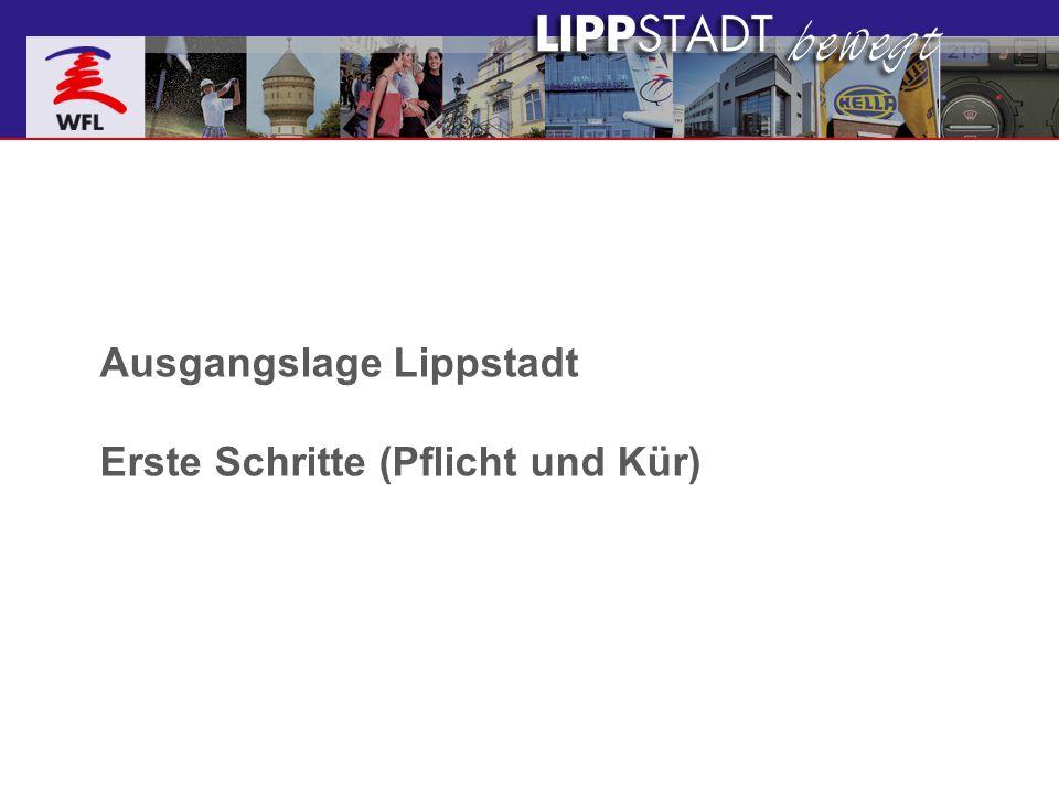 Ausgangslage Lippstadt Erste Schritte (Pflicht und Kür)