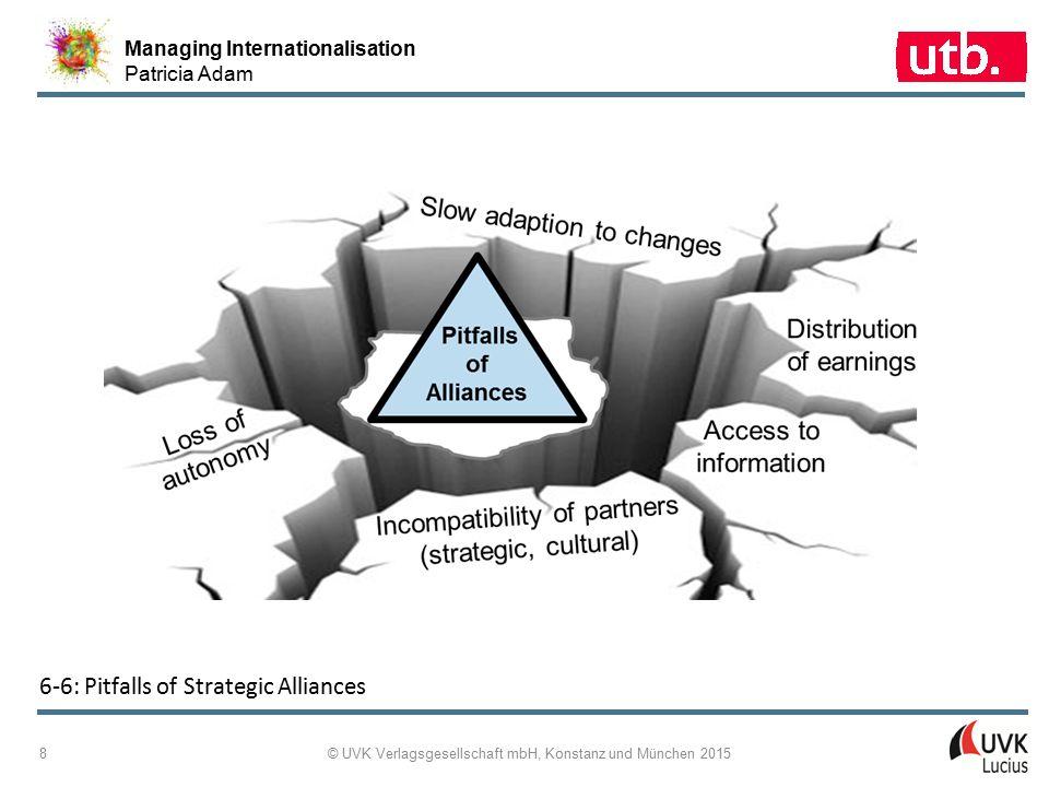 Managing Internationalisation Patricia Adam © UVK Verlagsgesellschaft mbH, Konstanz und München 2015 19 6-14: The Three-Lines-of-Defence Model