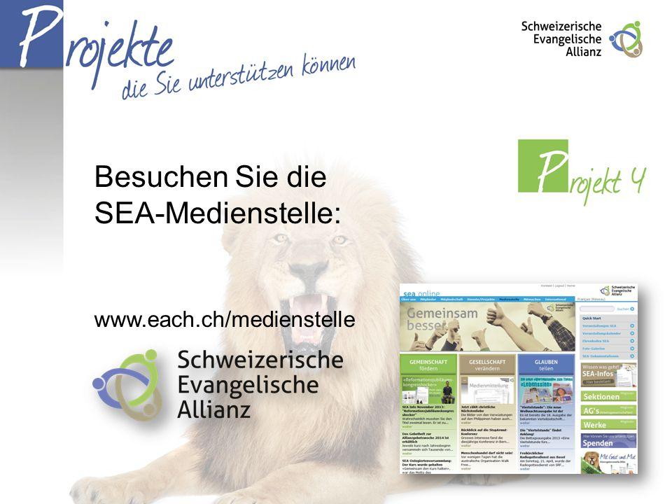 Besuchen Sie die SEA-Medienstelle: www.each.ch/medienstelle