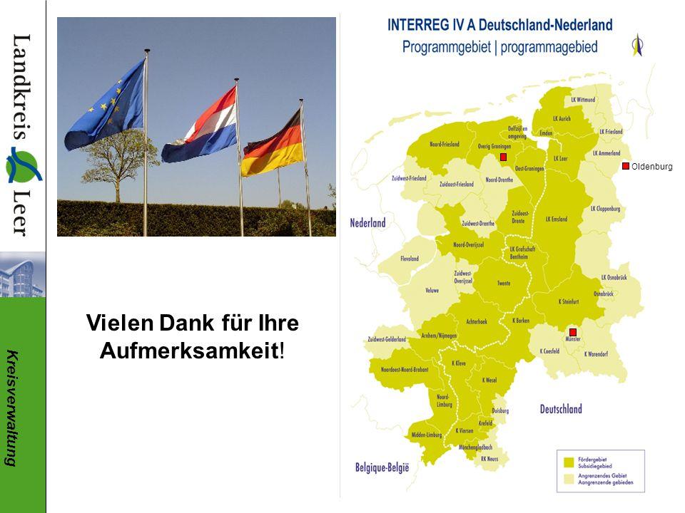 Kreisverwaltung Oldenburg Vielen Dank für Ihre Aufmerksamkeit!