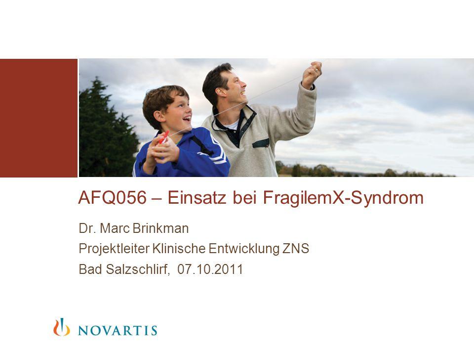 AFQ056 – Einsatz bei FragilemX-Syndrom Dr.