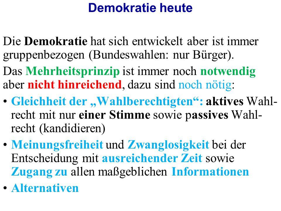 Die islamische Herrschaftsform und die Demokratie - Gemeinsamkeiten -Herrschaft des Volkes/ der Ummah -Wahrung von Werten und Rechten: wie Freiheit, Gleichheit, soziale Gerechtigkeit, Menschenrechte, etc.
