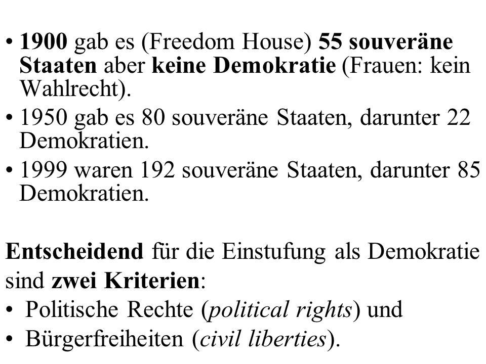 Der demokratische Staat Anwendungsgebiet der Demokratie: Staatsführung Merkmale des demokratischen Staats: Volk Territorium, in dem die Entscheidungen innenpolitisch angewendet werden und das Volk angesiedelt ist.