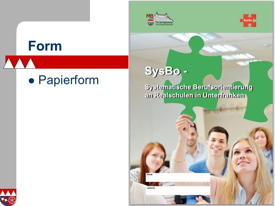 Form Papierform
