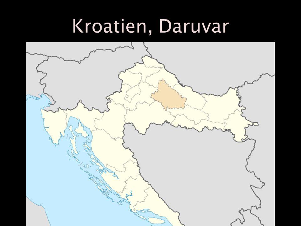 Kroatien, Daruvar