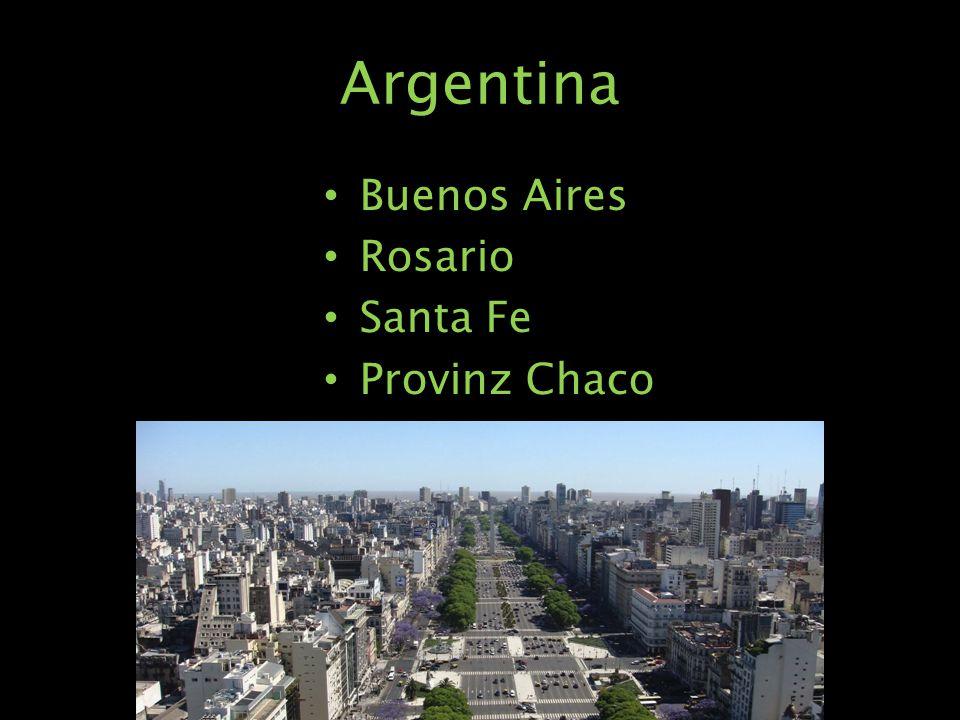 Argentina Buenos Aires Rosario Santa Fe Provinz Chaco
