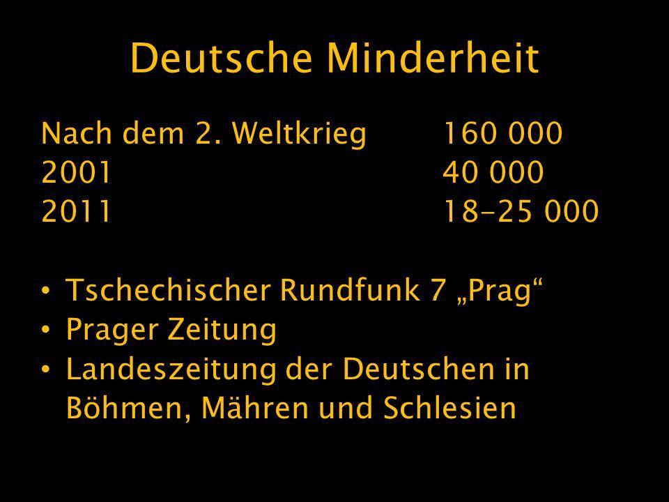 Deutsche Minderheit Nach dem 2.
