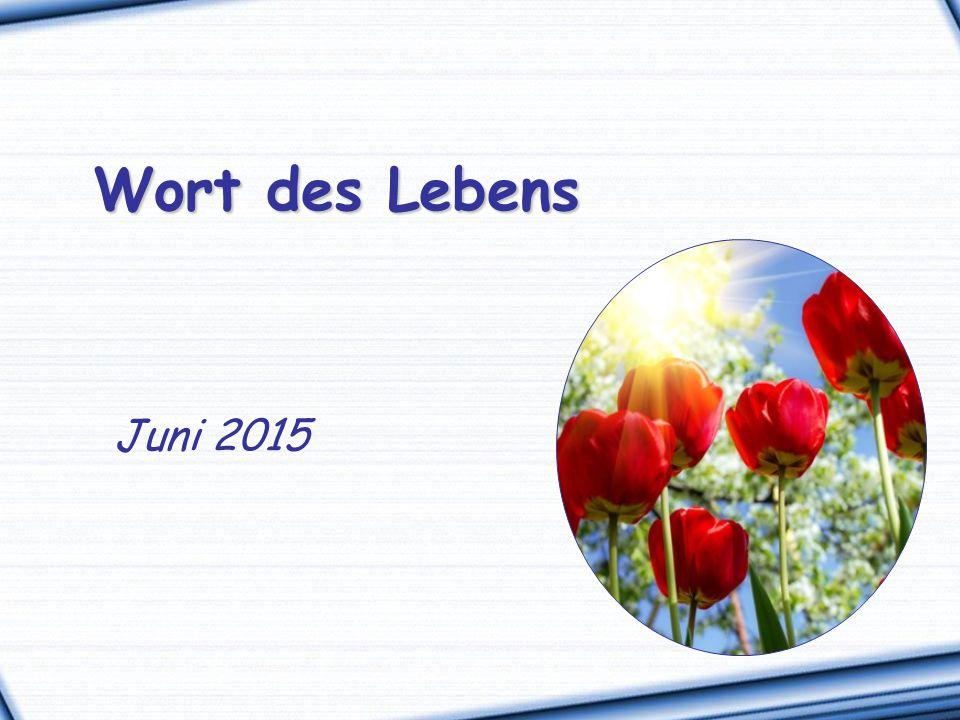 Wort des Lebens Juni 2015