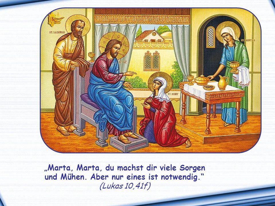 """Und irgendwann vergessen wir, dass Jesus uns gesagt hat: """"Macht euch also keine Sorgen und fragt nicht: Was sollen wir essen."""