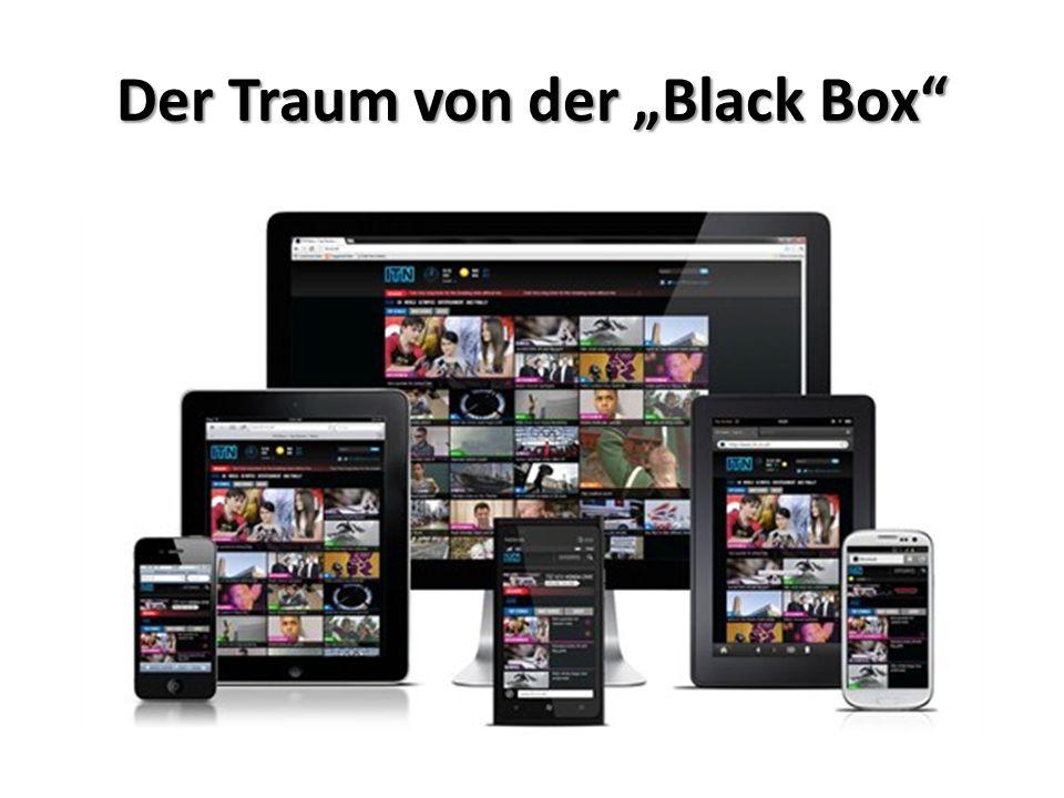 """Der Traum von der """"Black Box"""