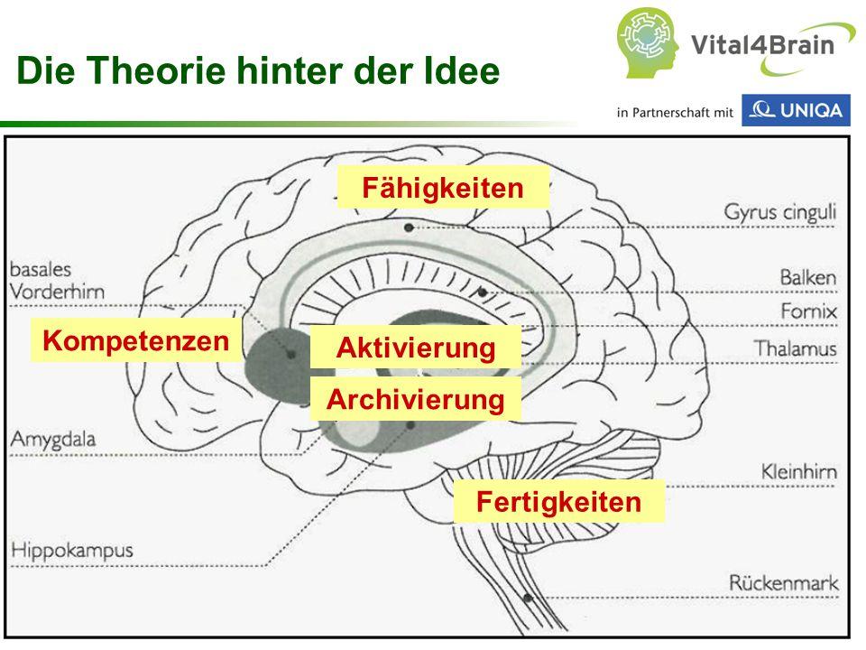 Chart 21 Fähigkeiten Fertigkeiten Die Theorie hinter der Idee Aktivierung Kompetenzen Archivierung