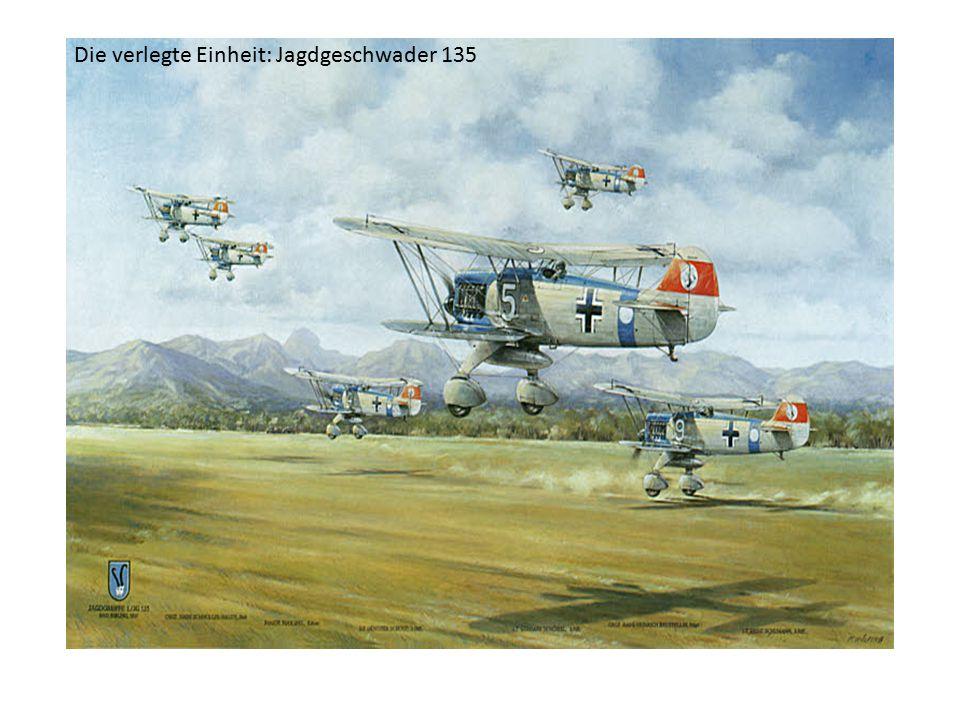 Die verlegte Einheit: Jagdgeschwader 135