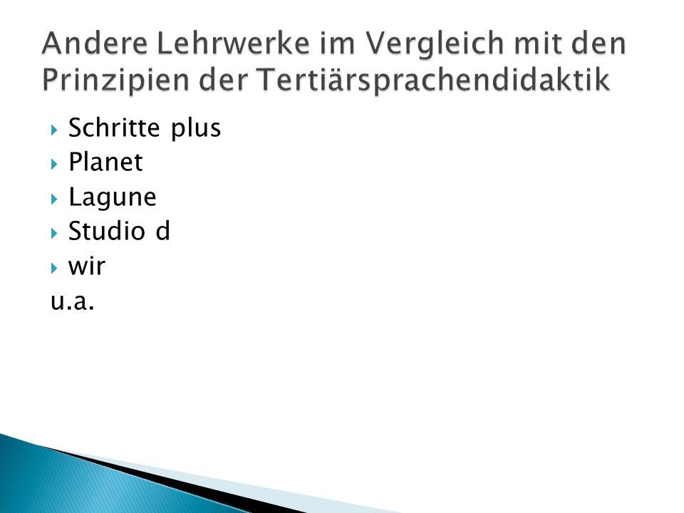 Schritte plus  Planet  Lagune  Studio d  wir u.a.