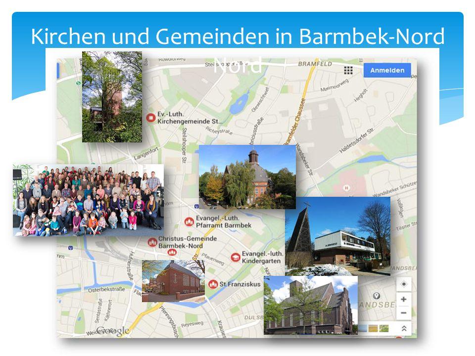 Kirchen und Gemeinden in Barmbek-Nord Nord