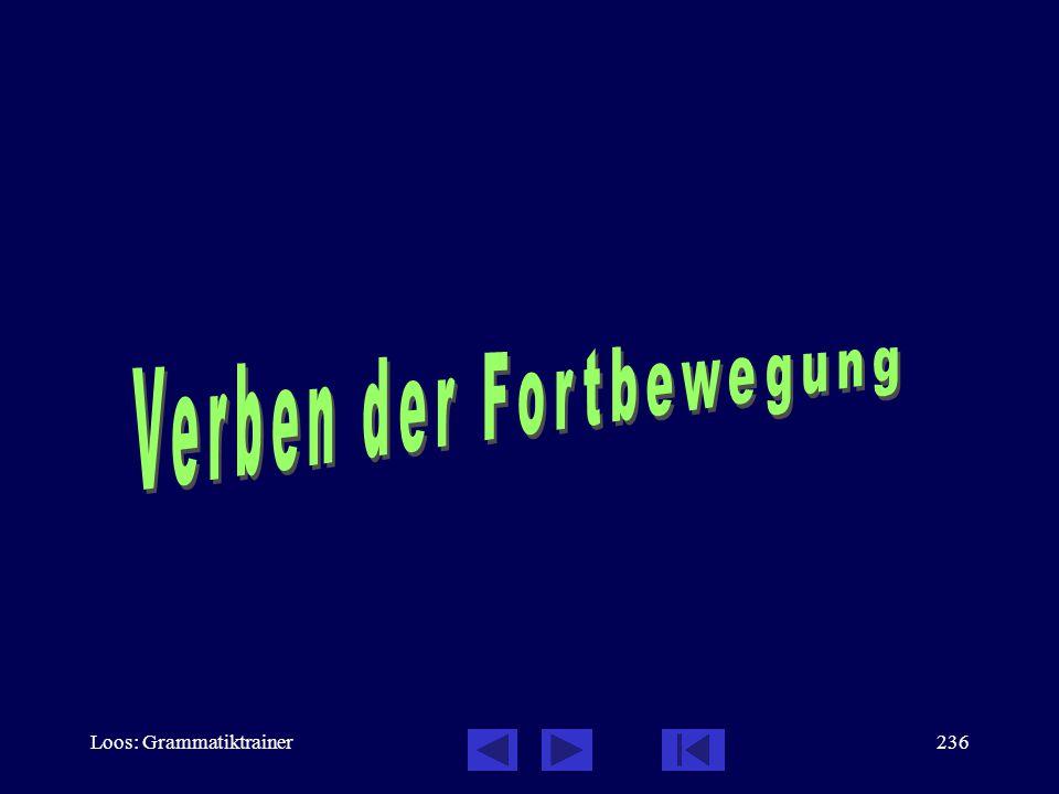 Loos: Grammatiktrainer235 Verbalaspekt: Übungen, 7 / 7 Часть 2 –Со мной всё в порÿдке. –Нет. Я вèжу, что не всё в порÿдке... ________, Weine nicht! Со