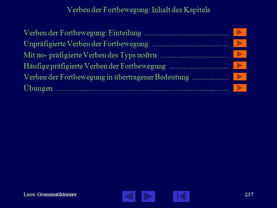 Loos: Grammatiktrainer236