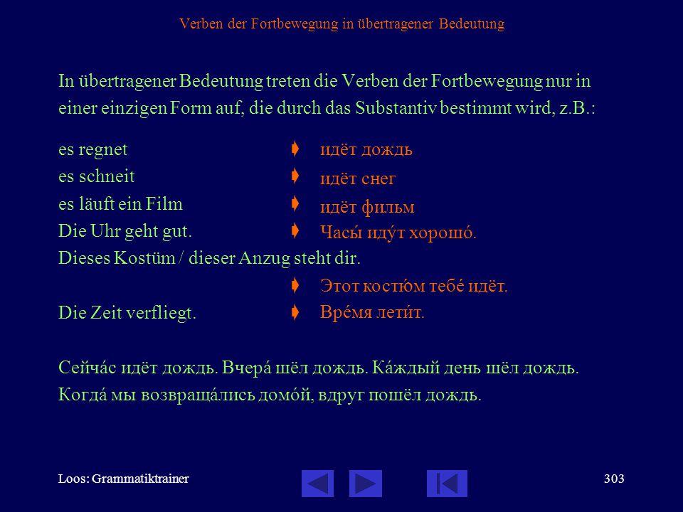 Loos: Grammatiktrainer302