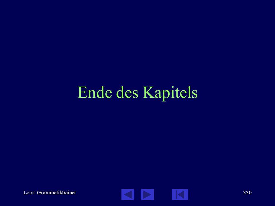Loos: Grammatiktrainer329 Partizipien: Testen Sie sich! 2 / 2 Übersetzen Sie: Это здàние бûло пострîенo извåстным архитåктором.  Кàсса ужå закрûта. 