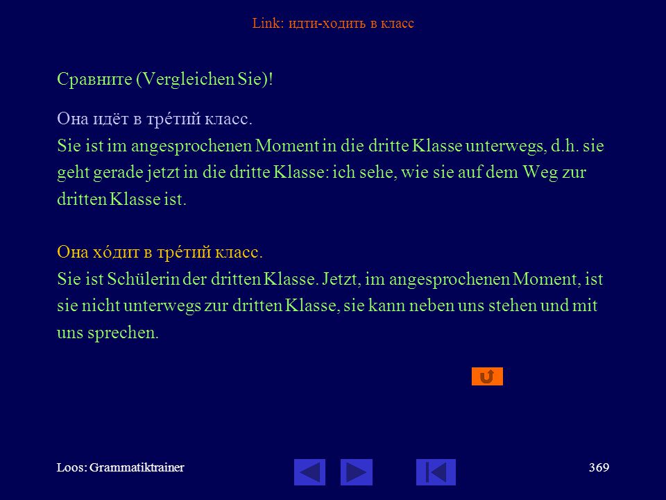 Loos: Grammatiktrainer368 Link: Verbalaspekt - Infinitiv Сравнèте (Vergleichen Sie)! (1)Здесь он хîчет говорèть тîлько по-рóсски. (2)Я хочó сказàть ва