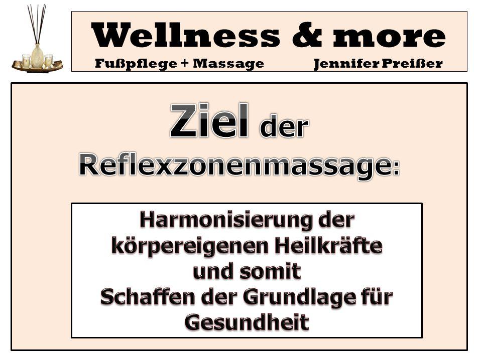 Wellness & more Fußpflege + Massage Jennifer Preißer AutorenPat.