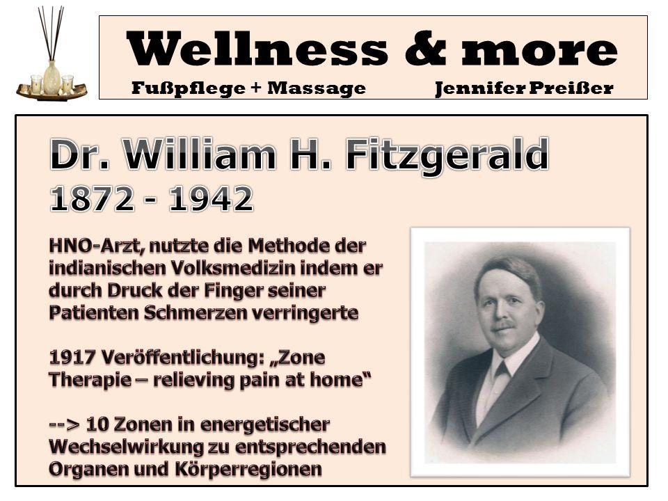 Wellness & more Fußpflege + Massage Jennifer Preißer Theorie 4: Energiebahnen (fernöstlich: Meridiane) Die äußere Stimulation bewirkt einen Energiefluß der Meridiane die an bestimmten Punkten unseres Körpers beginnen (z.B.