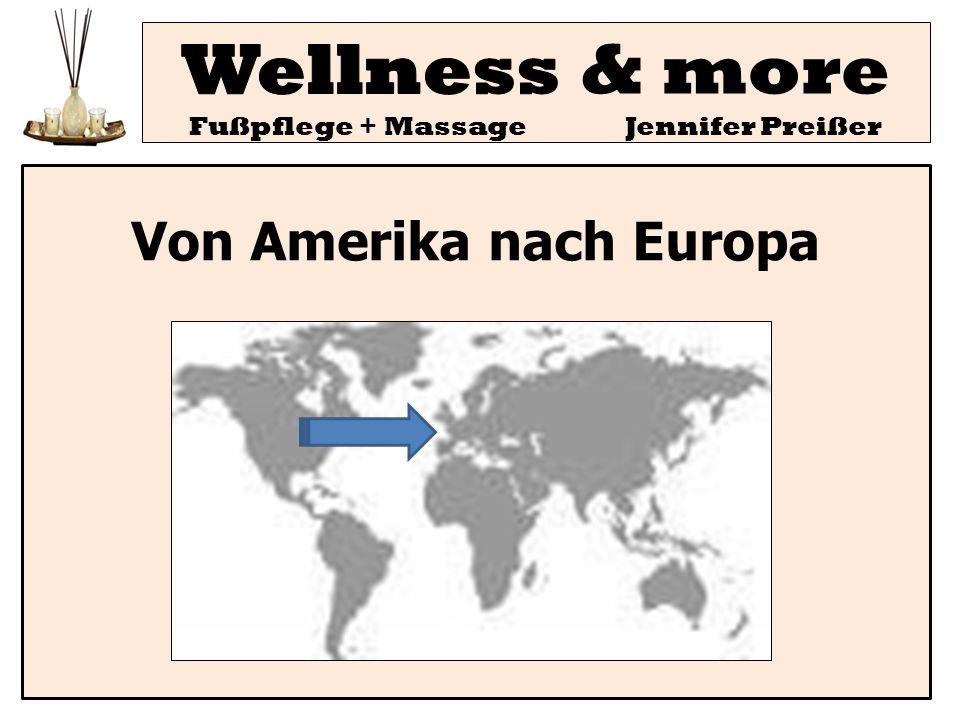 Wellness & more Fußpflege + Massage Jennifer Preißer Allgemeine Aktivierung der Haut - verbesserte Hautdurchblutung - kurzfristig vermehrte Schweißabsonderung -unspezifische Hautausschläge die nach 2-3 Tagen wieder verschwinden Änderung der Schlafgewohnheiten für 2-3 Tage Vermehrte Harnausscheidung und vermehrte Darmtätigkeit - mitunter auch leichte Verfärbung und deutliche Geruchsbildung aufgrund erhöhter Schadstoffausscheidung Gesteigerte Sekretion mancher Schleimhäute wie leichter Schnupfen und Bronchialsekret als Anzeichen der Selbstreinigung