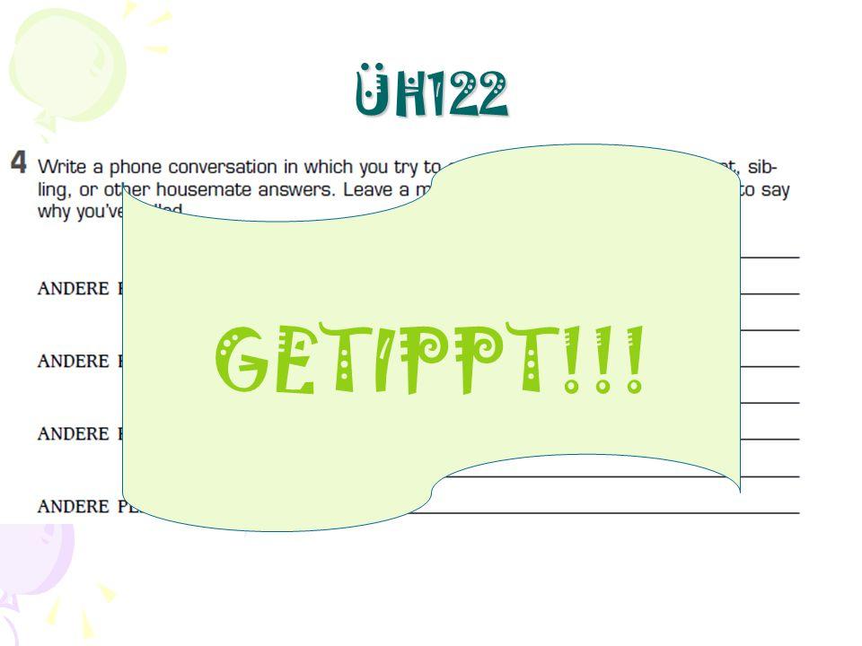 ÜH122 GETIPPT!!!