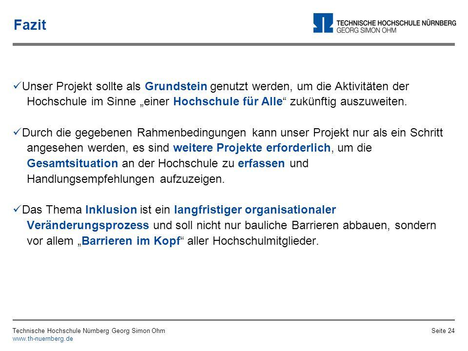 Agenda 1. Begrifflichkeiten und Rahmenbedingungen 2. Status Quo - Wo steht die TH Nürnberg? 2.1 Studierende 2.2 Professor_innen und weiteres Hochschul