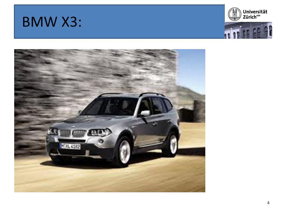 BMW X3: 4