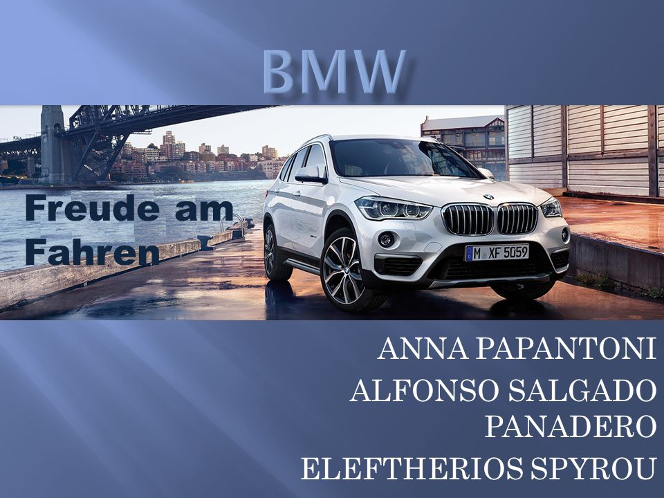 ANNA PAPANTONI ALFONSO SALGADO PANADERO ELEFTHERIOS SPYROU Freude am Fahren