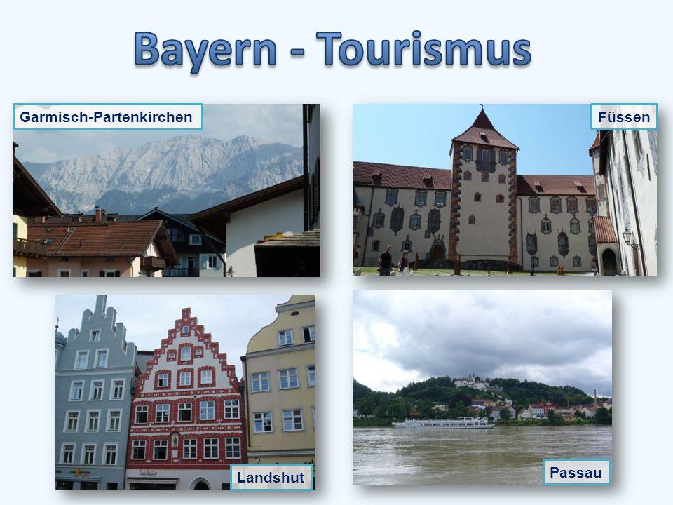 Neuschwanstein gehört heute zu den meistbesuchten Schlössern und Burgen Europas.