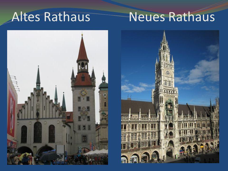 Altes Rathaus Neues Rathaus