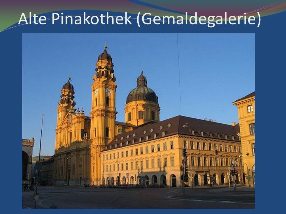 Alte Pinakothek (Gemaldegalerie)