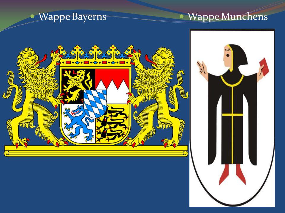 Wappe Bayerns Wappe Munchens